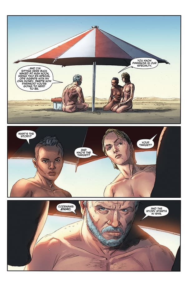 10-Page Preview Of Matt Kindt/Doug Braithwaite's Bad Idea: Eniac #1