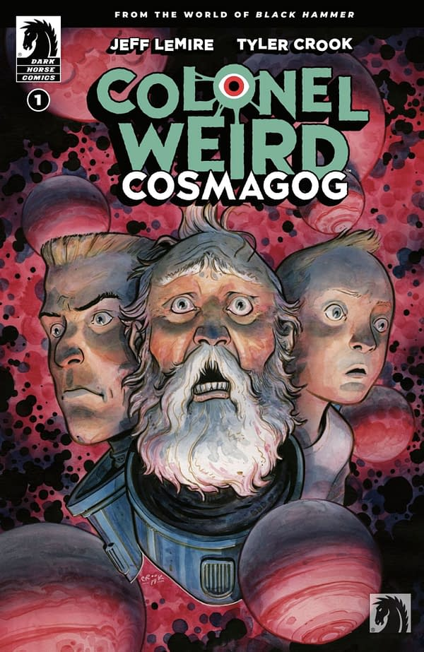 Colonel Weird: Cosmagog #1 cover. Credit: Dark Horse