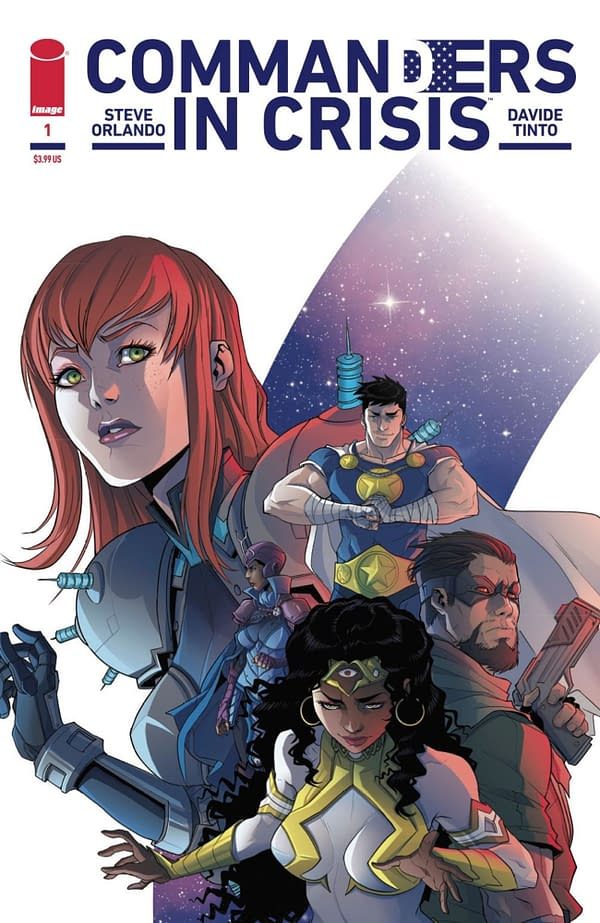 Commanders in Crisis #1 cover. Credit: Image Comics