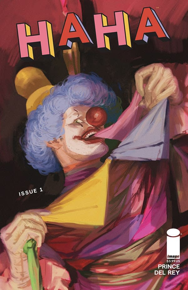 W Maxwell Prince Launchea New Clown Anthology Comic, Haha, From Image