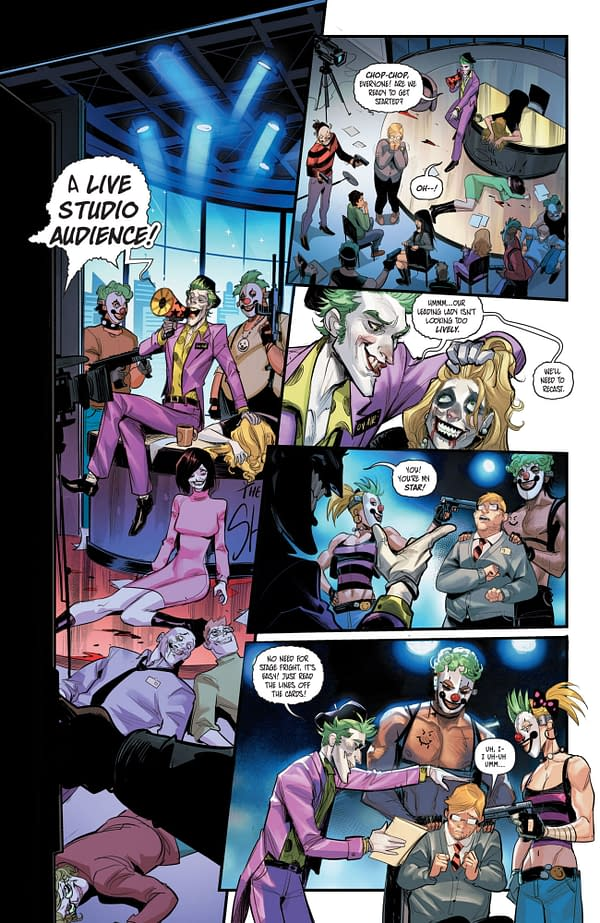 The Making Of A Punchline For The Joker (Punchline #1 Preview)