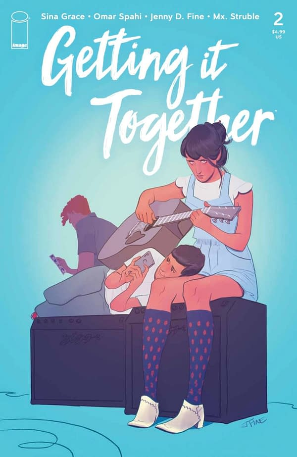 Getting it Together #2 cover. Credit: Image Comics