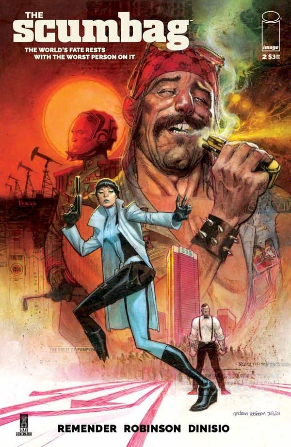 Scumbag #2 cover. Credit: Marvel Comics