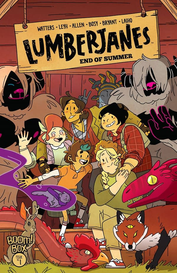 Will Lumberjanes: End of Summer #1 Beat Issue #75 73% Bump?
