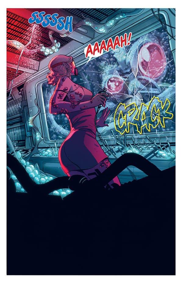 Mirka Andolfo, David Goy & Andrea Broccardo's New Comic, Deep Beyond
