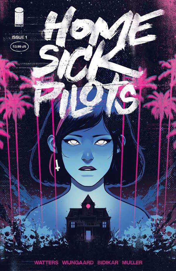 Home Sick Pilots #1 cover. Credit: Image Comics