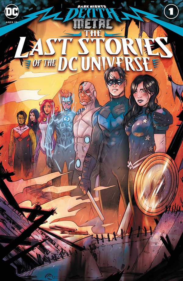 All The Titans in The Last Stories Of The DC Universe - Death Metal