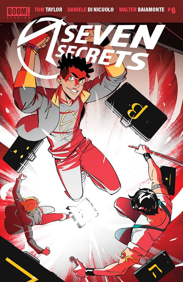 Seven Secrets #6 Review: It's Time To Get Weird