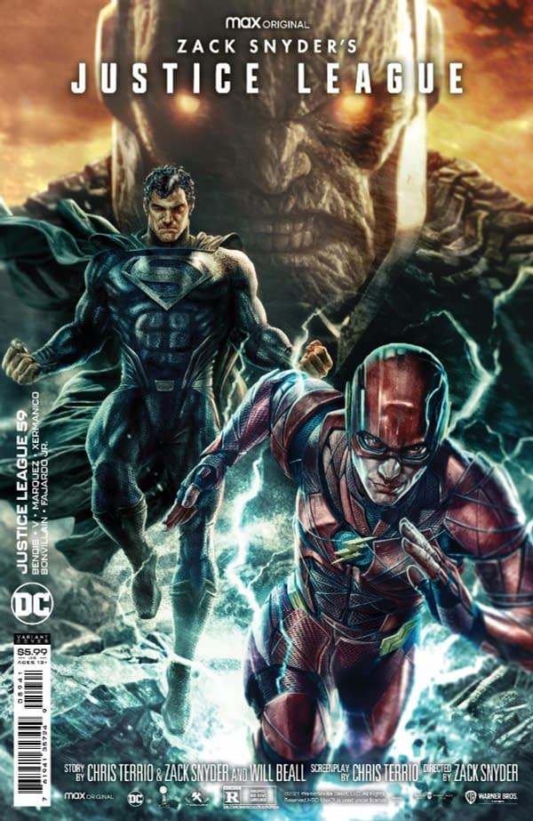 Justice League Comics To Get Zack Snyder Cut Covers From DC