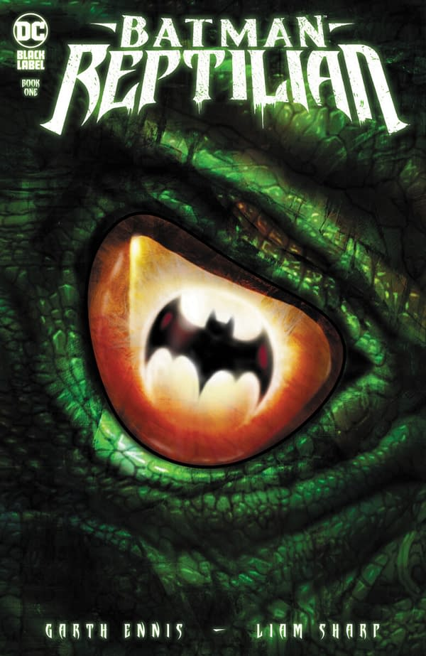 Garth Ennis & Liam Sharp Batman/Killer Croc Comic From DC Black Label