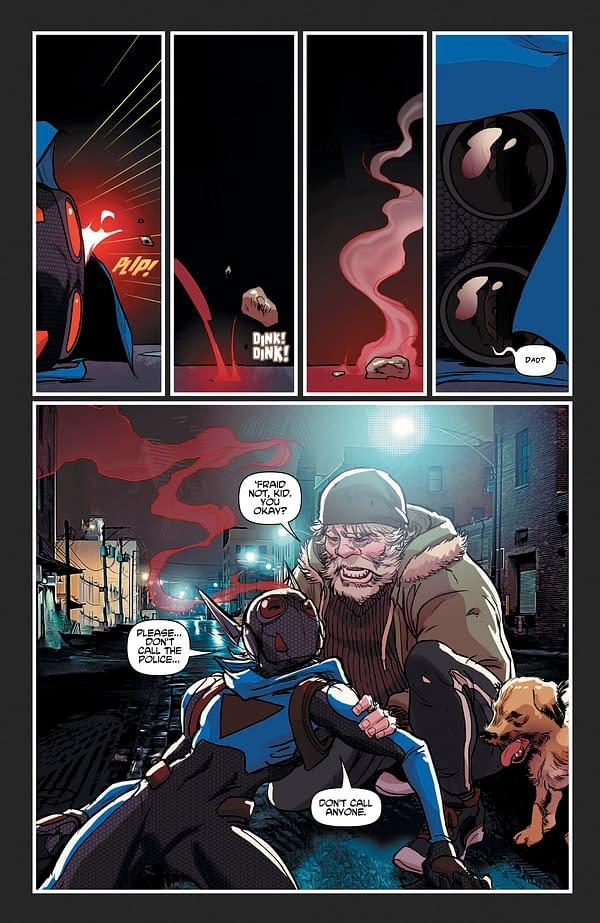 E-Ratic #4: AWA Studio Previews Their Teen Superhero Comic