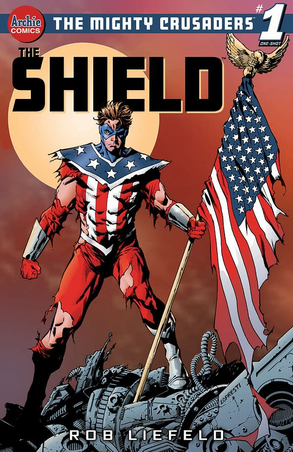 Rob Liefeld Recreates The Shield For Archie Comics