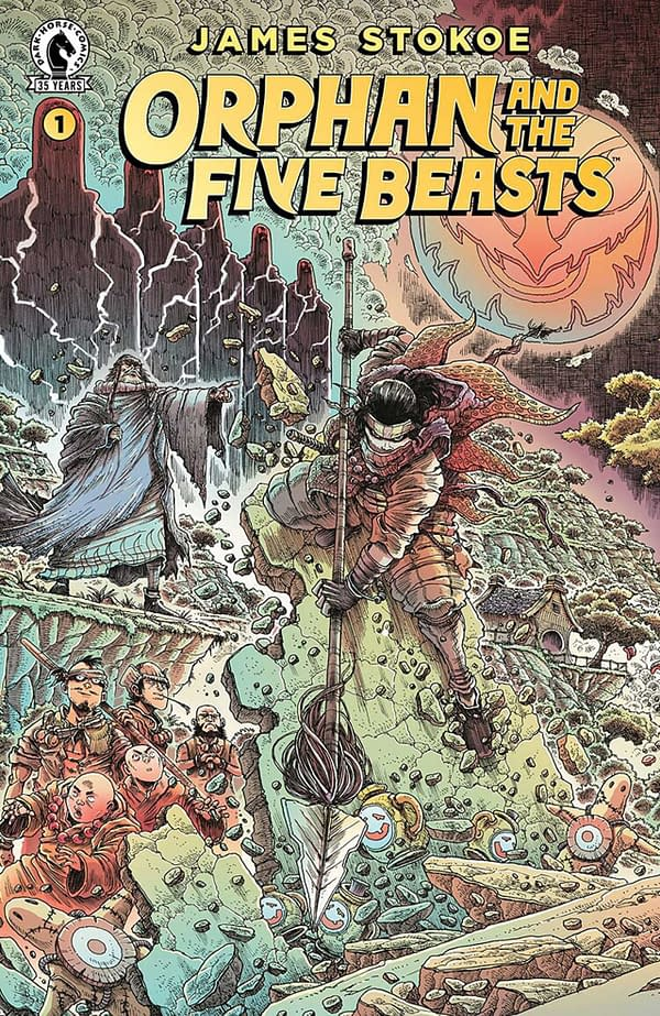 Orphan And The Five Beasts #1 Review: Visually Stunning