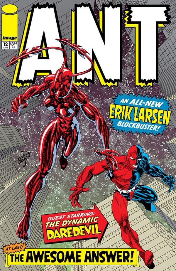 After Fourteen Years, Erik Larsen Finally Published Ant #12