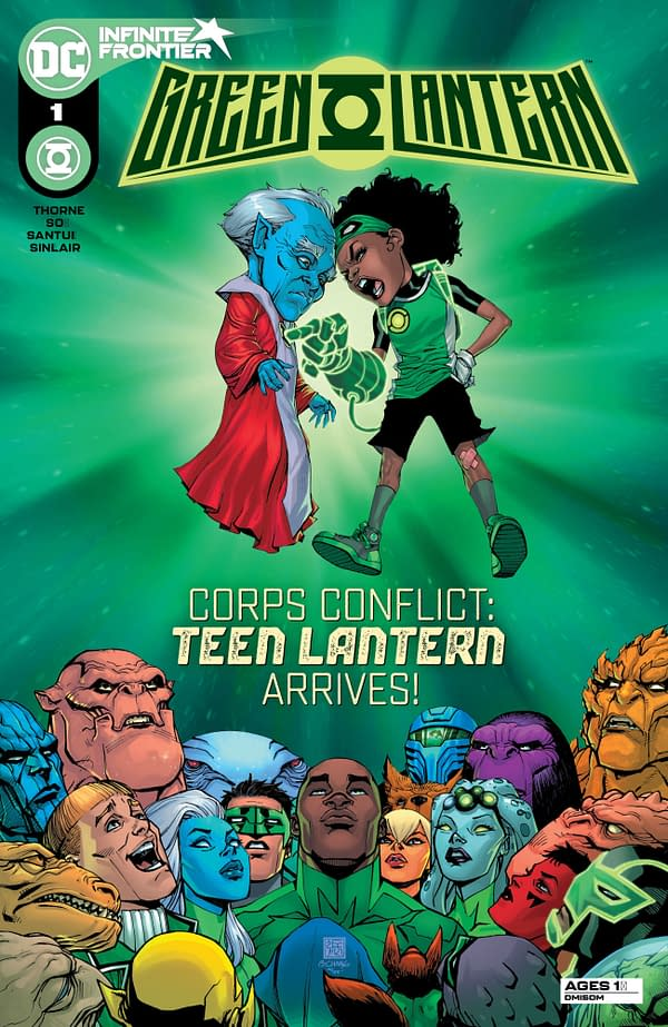 """The Bernard Chang main cover to Green Lantern #1, by Geoffrey """"Jeffrey"""" Thorne and Dexter Soy, in stores April 6th from DC Comics"""