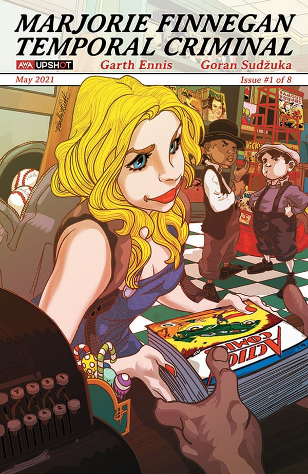 Marjorie Finnegan: Temporal Criminal #1: More Variant Covers Unveiled