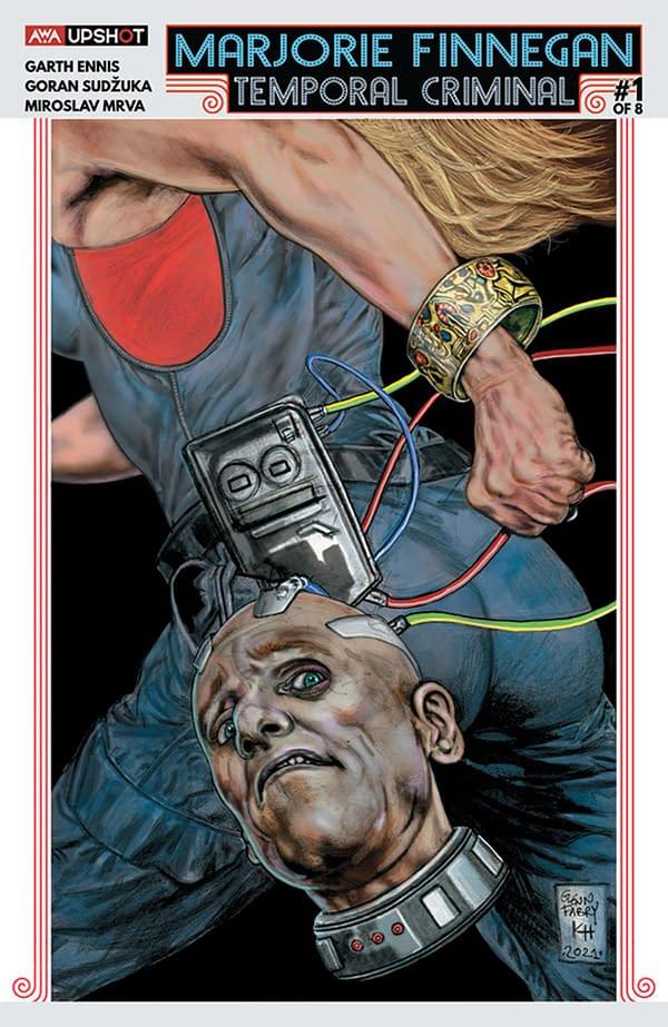 Marjorie Finnegan: Temporal Criminal #1: Glenn Fabry Variant Covers