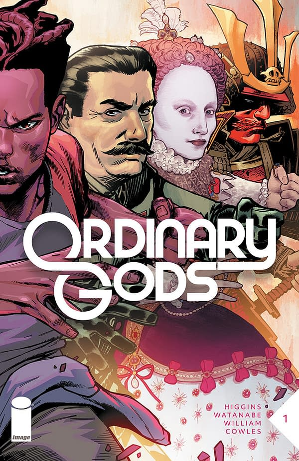 The cover to Ordinary Gods #1