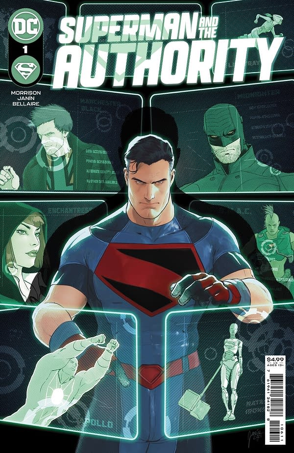 Superman and The Authority by Grant Morrison and Mikel Janín.