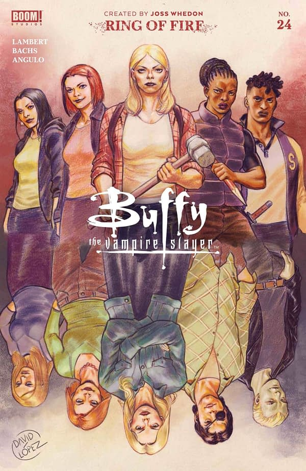 Buffy The Vampire Slayer Comic Crosses Over With TV S03E06 Band Candy