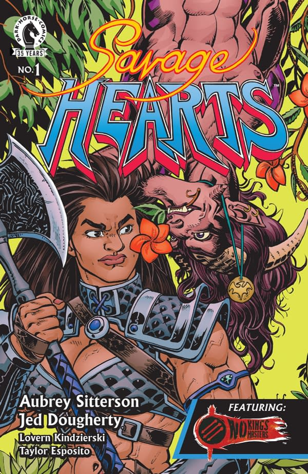 The cover to Savage Hearts #1