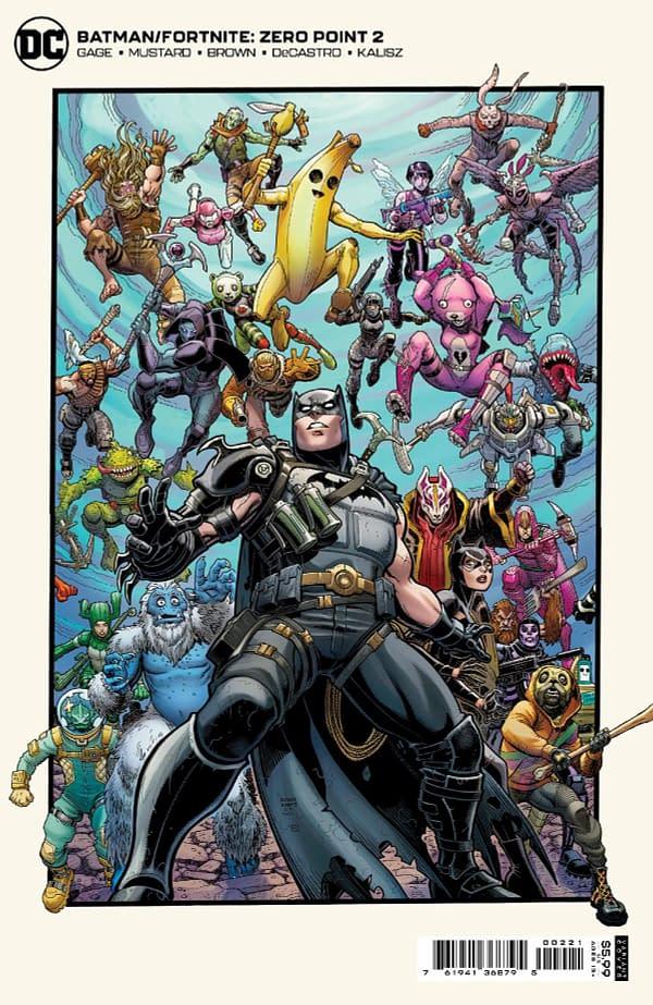 Cover image for BATMAN FORTNITE ZERO POINT #2 (OF 6) CVR B ART ADAMS CARD STOCK
