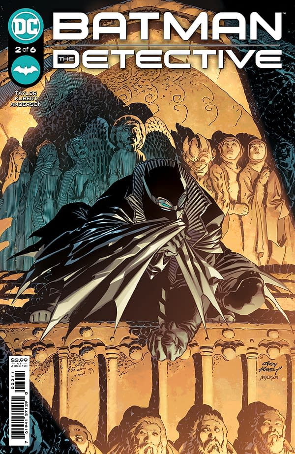 Cover image for BATMAN THE DETECTIVE #2 (OF 6) CVR A ANDY KUBERT