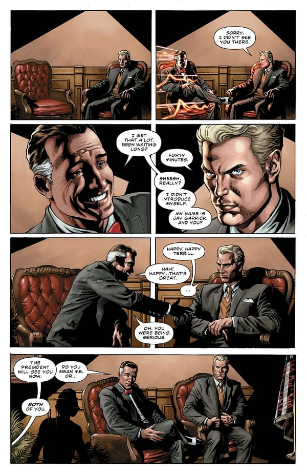 Interior preview page from FLASH #770 CVR A BRANDON PETERSON