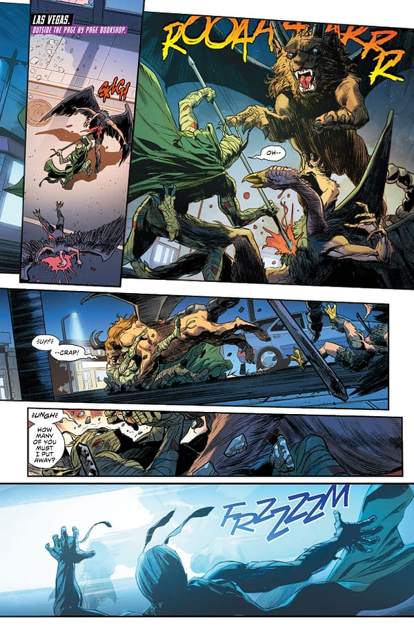 Interior preview page from JUSTICE LEAGUE #61 CVR A DAVID MARQUEZ