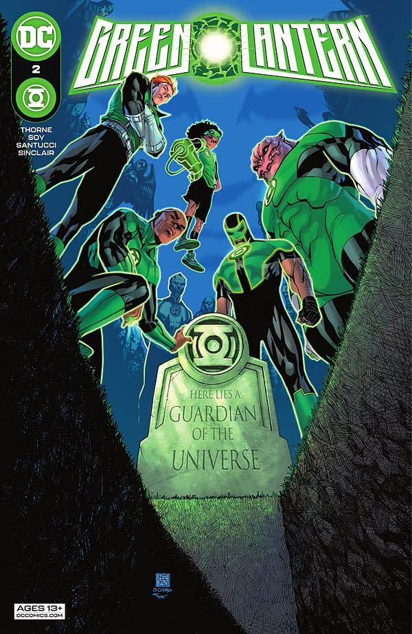 Green Lantern #2 Review: A New Era On Oa