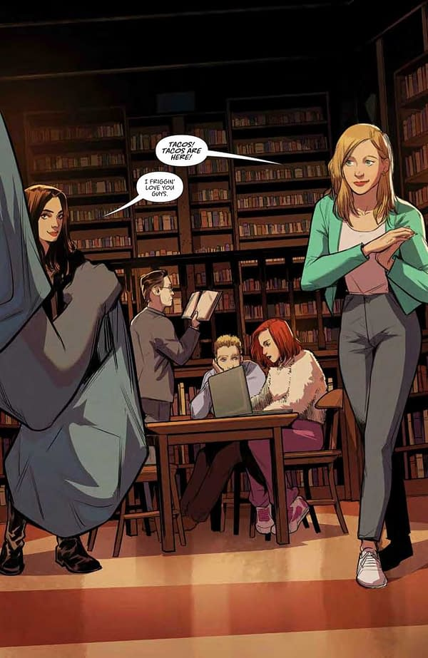 Interior preview page from BUFFY THE VAMPIRE SLAYER #25 CVR A FRANY