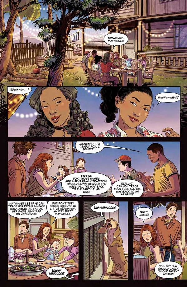 Interior preview page from FIREFLY BRAND NEW VERSE #3 (OF 6) CVR A KHALIDAH