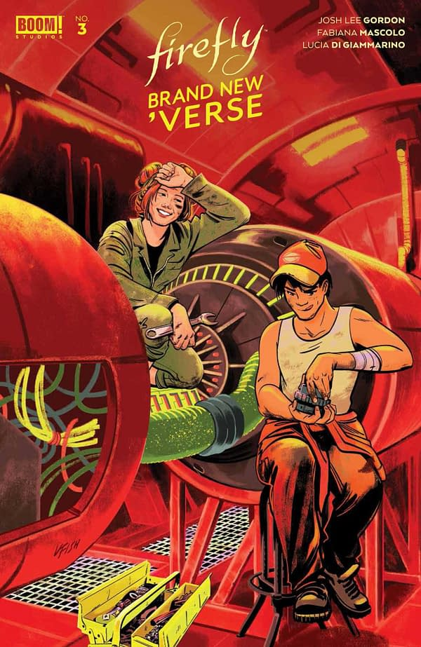 Cover image for FIREFLY BRAND NEW VERSE #3 (OF 6) CVR B FISH