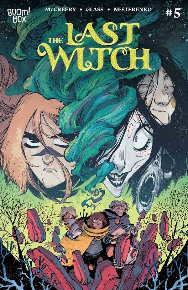 Cover image for LAST WITCH #5 (OF 5) CVR B CORONA