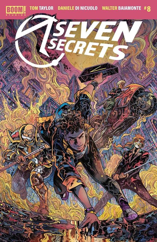 Cover image for SEVEN SECRETS #8 CVR B RICCARDI