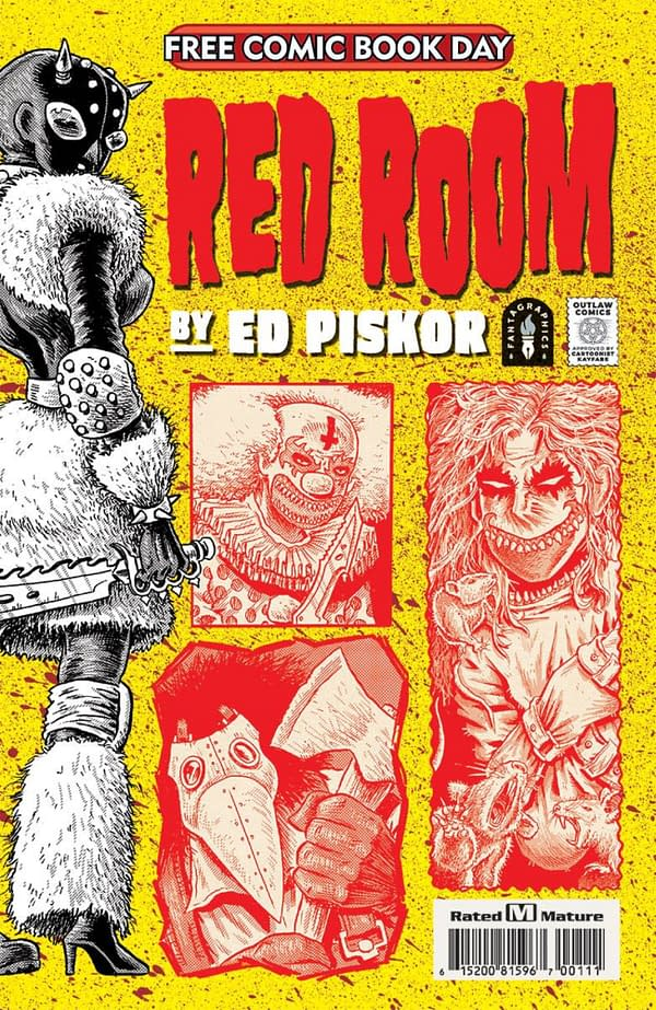 FCBD Preview: Ed Piskor's Red Room That's Only On Free Comic Book Day