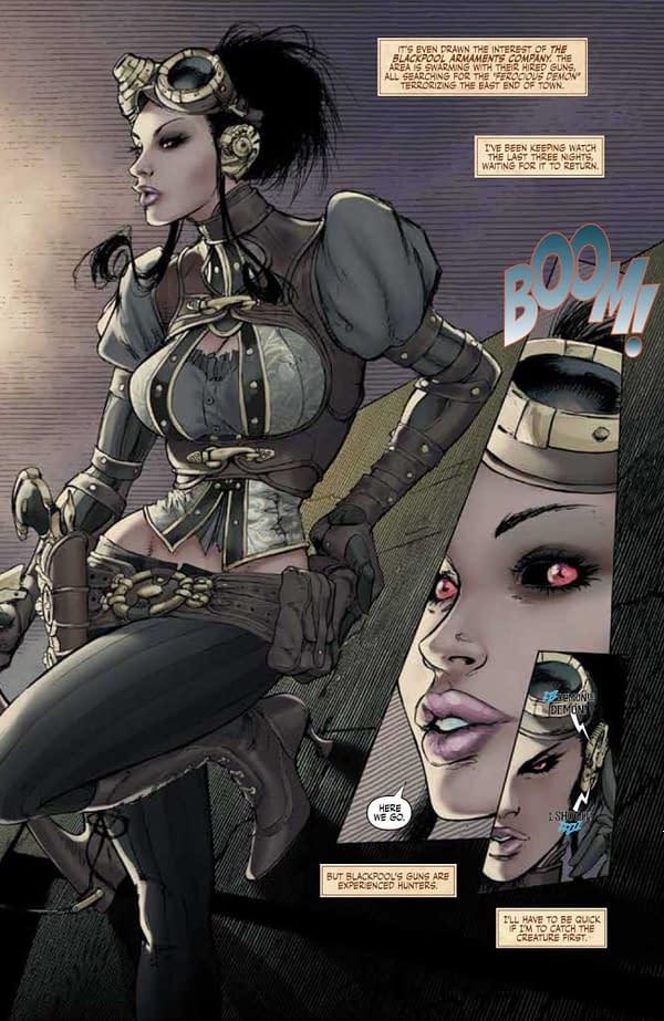 FCBD Preview: Joe Benitez's Lady Mechanika Comes To Image Comics