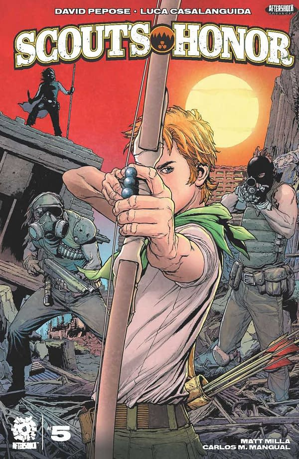 Scout's Honor #5 Review: Highly Recommended