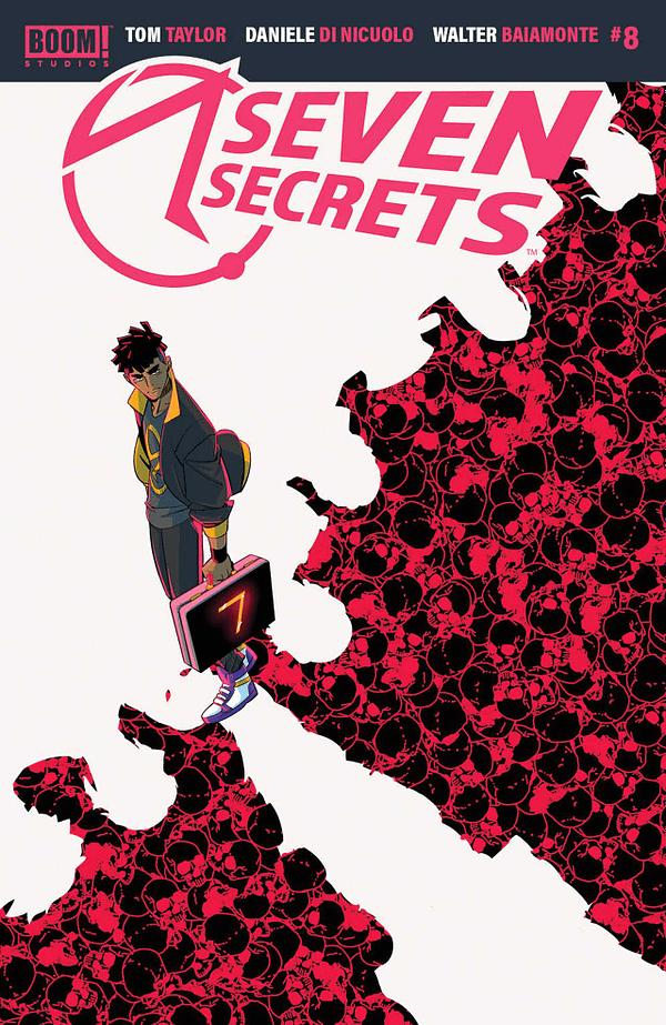 Seven Secrets #8 Review: Pulse-Pounding Action