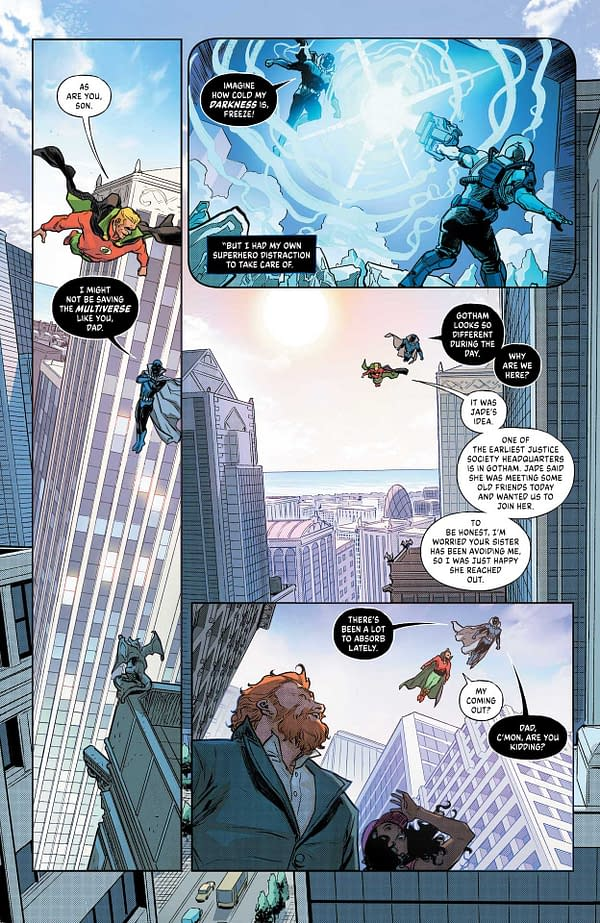 Interior preview page from INFINITE FRONTIER #1 (OF 6) CVR A MITCH GERADS