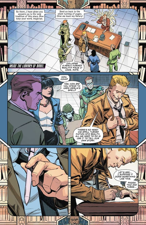 Interior preview page from JUSTICE LEAGUE #63 CVR A DAVID MARQUEZ