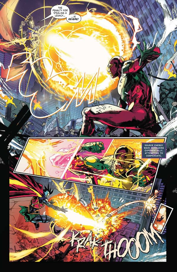 Interior preview page from MISTER MIRACLE THE SOURCE OF FREEDOM #2 (OF 6) CVR A YANICK PAQUETTE