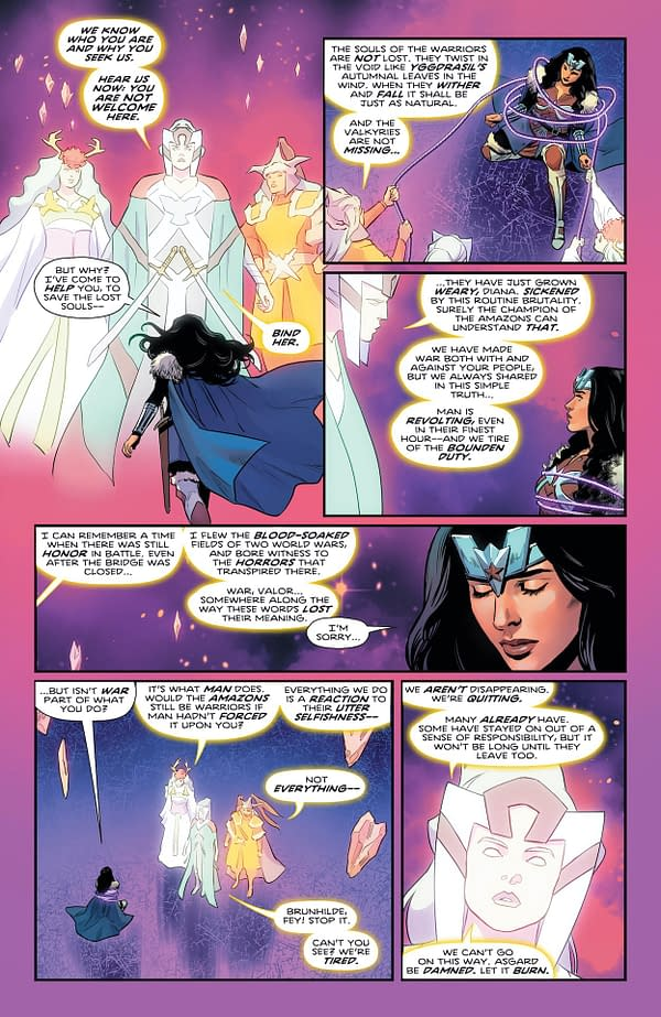 Interior preview page from WONDER WOMAN #773 CVR A TRAVIS MOORE