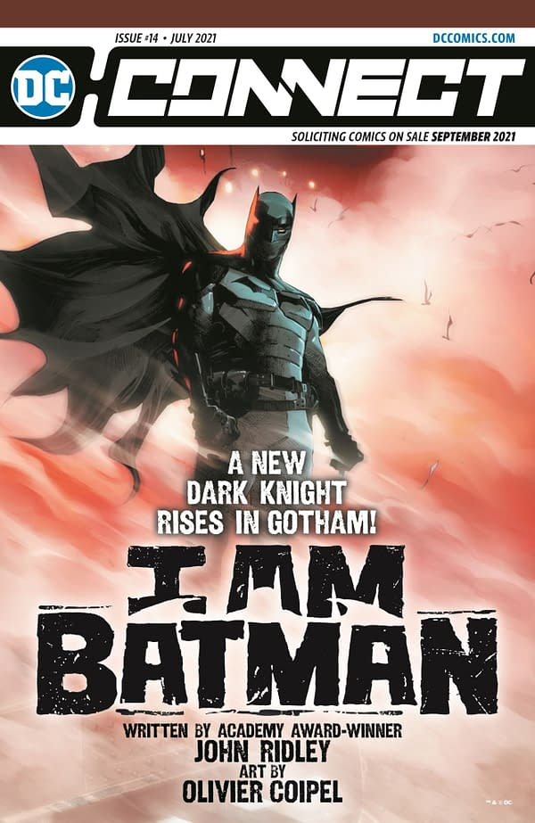 DC Comics Launches I Am Batman #1 by John Ridley and Oliver Coipel