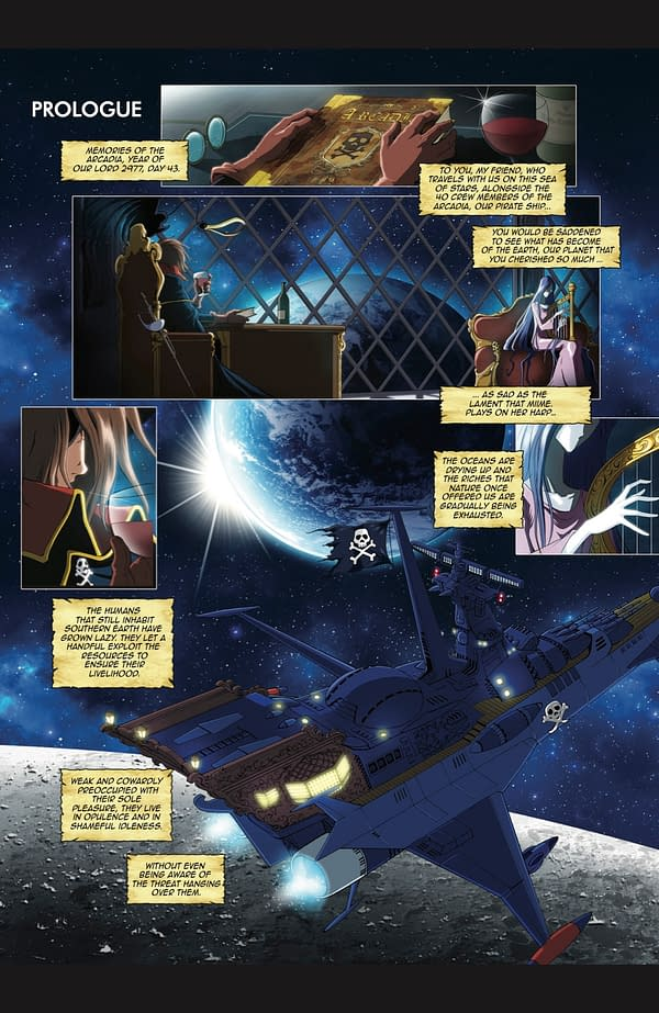 Captain Harlock: Interview with New Artist Jerome Alquie