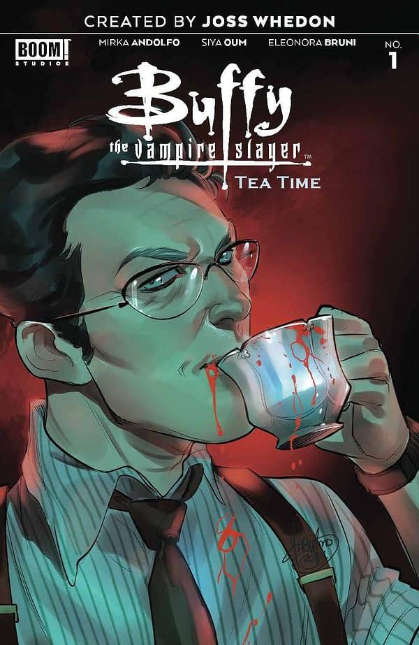 Cover image for BUFFY THE VAMPIRE SLAYER TEA TIME # 1 CVR A ANDOLFO