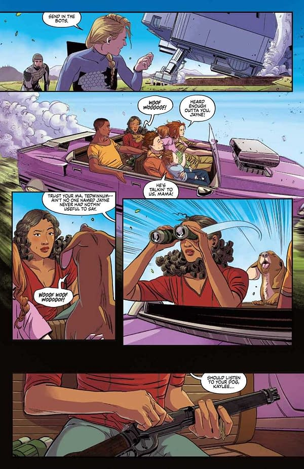Interior preview page from FIREFLY BRAND NEW VERSE #4 (OF 6) CVR A KHALIDAH