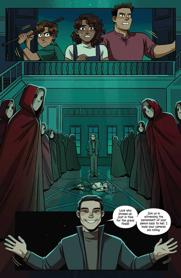 Interior preview page from SPECTER INSPECTORS #5 (OF 5) CVR A MCCURDY