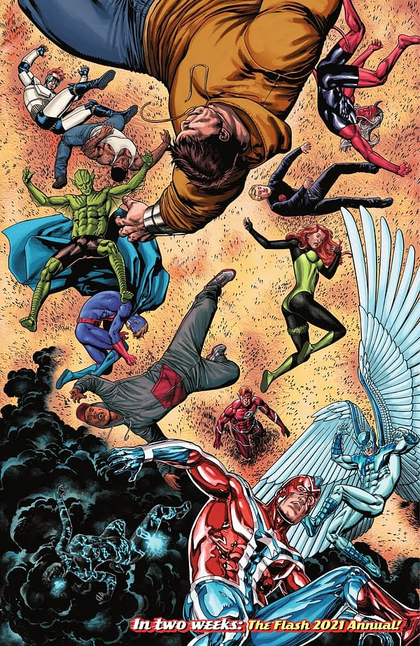 Flash #771 Spoils Itself With Its Own Cover