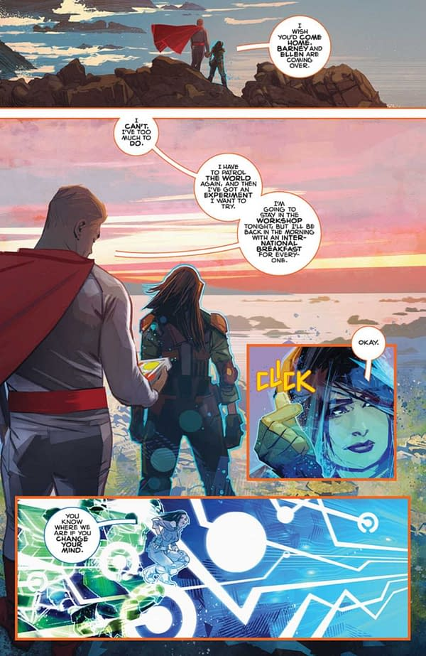Preview by Mark Millar and Tommy Lee Edwards